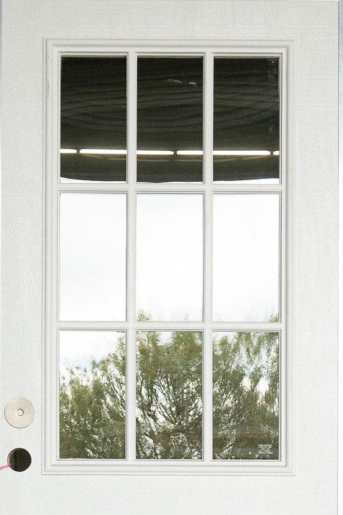 9 Lite  Out-Swing Door  **
