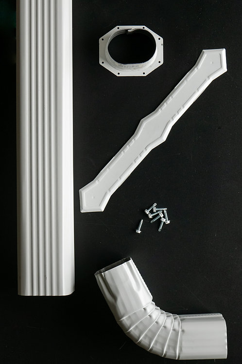 "2"" x 3"" Down Spout Kit"