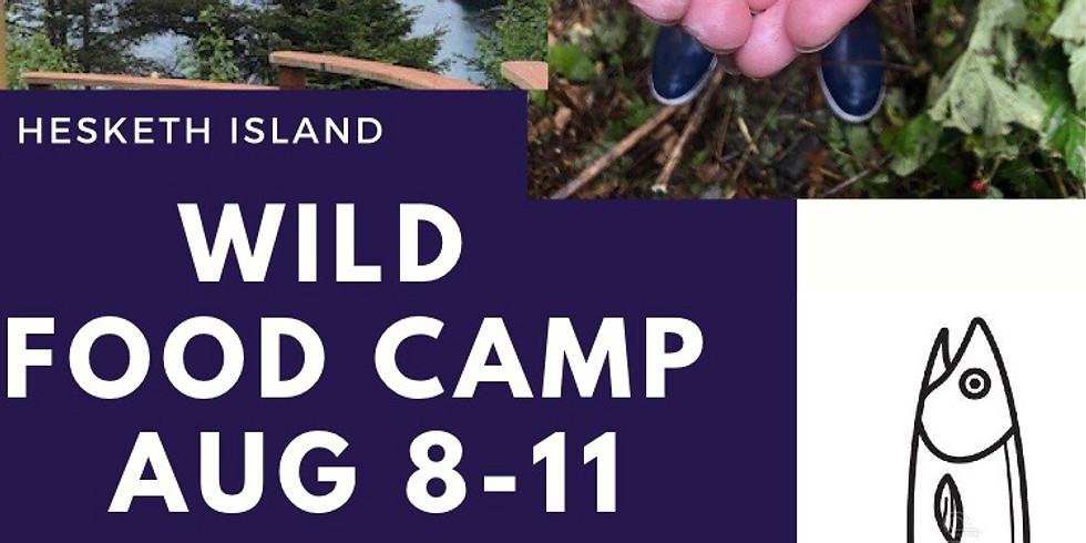 Alaska! Wild Food Camp  (SOLD OUT)