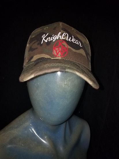 Camo knightwear68 snapback cap