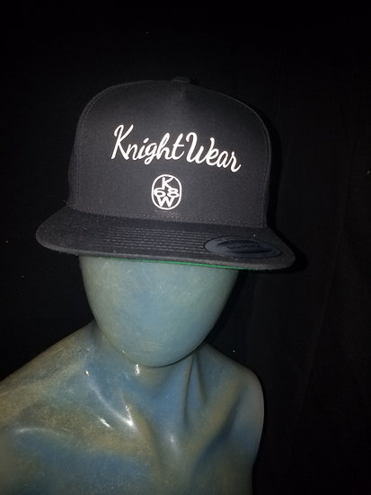 Black and white knightwear68 snapback