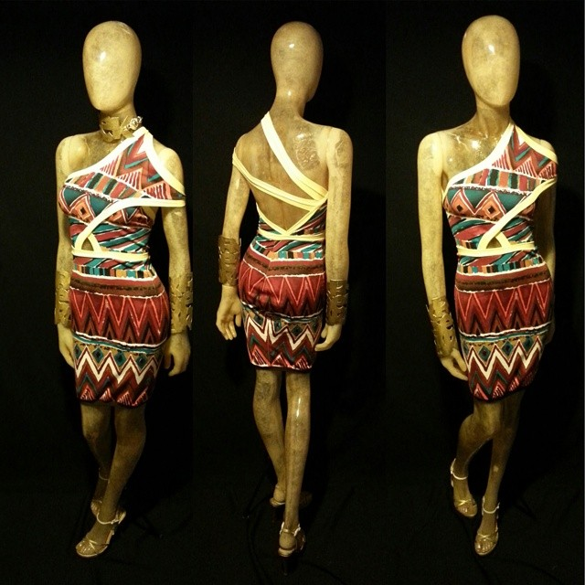The Aztec dress.jpg.jpg(I should call it the slingshot dress, but I think imma stick to Aztec.jpg) #