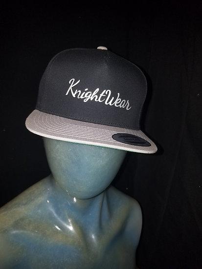 Black and grey knightwear68 snapback