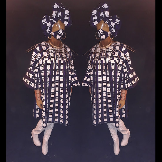 Cotton swing dress