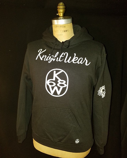 black and white kw hoodie