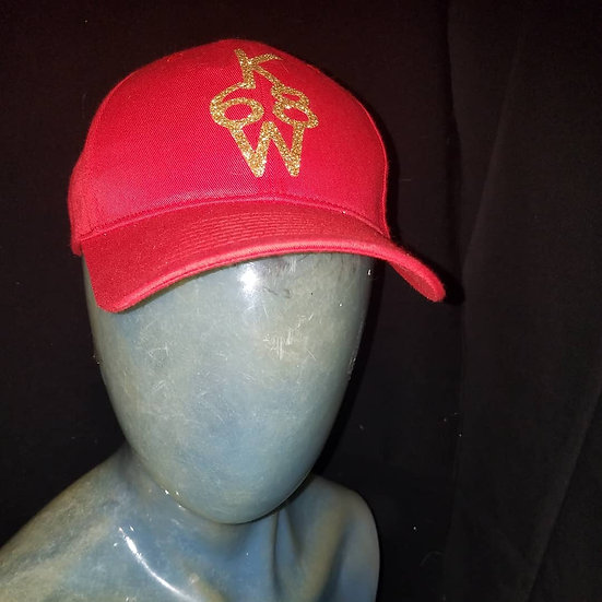 red and gold snapback