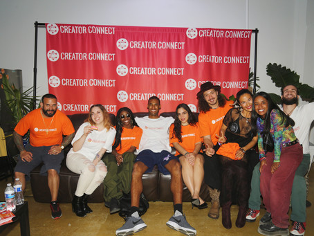 Recap: Creator Connect Launch Party and Artist Showcase