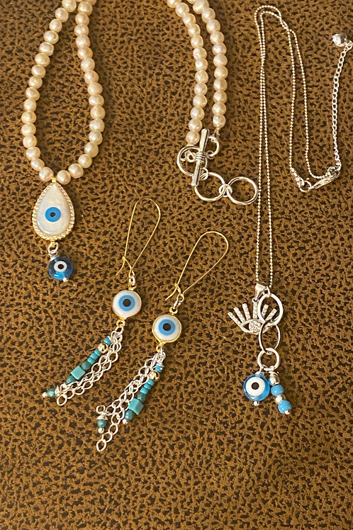 My evil eye collection - Earring