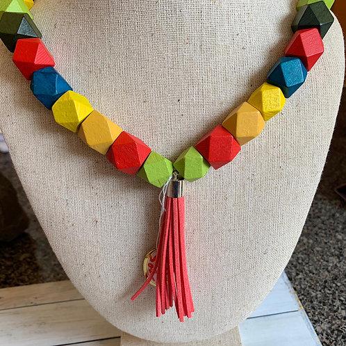 The Bonfire beads necklace