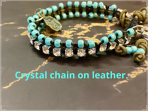 Crystal on Leather