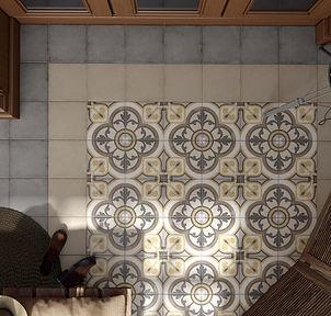 Bloomsbury 9, Art Nouveau Majestic Colour, Equipe Tiles, Rovic Tiles, Moroccan tiles, encaustic tiles, Original Style, traditional tiles