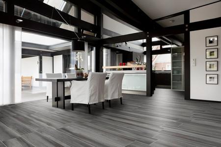 Avantgarde Piombo, Advance Piombo, wood-effect tiles, porcelain floor tiles, Energieker, Rovic Tiles