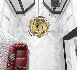 Statuario Bianco, Cerdomus Tiles, Porcelain Tiles, Herringbone Tiles, Italian Floor Tiles, Rovic Tiles