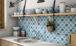 Caprice Deco Colours Sapphire. Equipe. Spaish Tiles