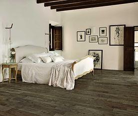 Treverkcountry Brown, Country Brown, Marazzi tiles, bedroom tiles, warm brown tiles, wood look tiles
