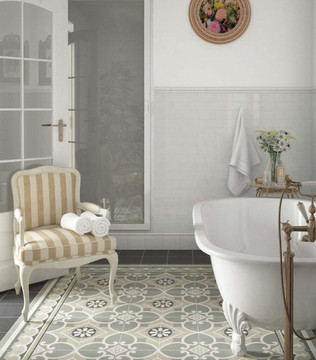 Bloomsbury 7, Caprice Chatelet, Equipe tiles, Moroccan style tiles, encaustic tiles, traditional tiles, Original Style