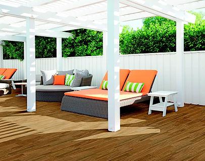 Marazzi Visual Brown Grip Wood Effect Stoneware Outdoor Tile M0MK
