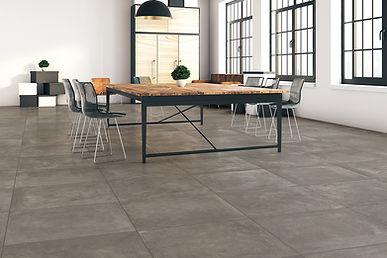 cerabeton amb cendre concrete effect tiles porcelain stoneware