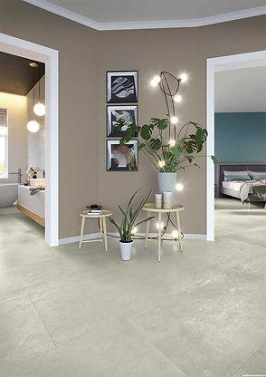 Studio 50, Serenissima, Studio, Concrete effect floor tiles, porcelain floor tiles, Italian floor tiles, 60 x 120cm tiles, polished concrete tiles