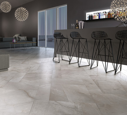 Pulpis Grigio, Decdence Grigio, Cerdomus Tiles, porcelain floor tiles, Rovic Tiles