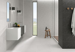 Basalt Perla and Antracite Floor and Wall Tiles. Azulev.