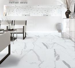 Statuario Bianco, Cerdomus Tiles, Polished Porcelain, Big Tiles, Rovic Tiles, Italian Floor Tiles