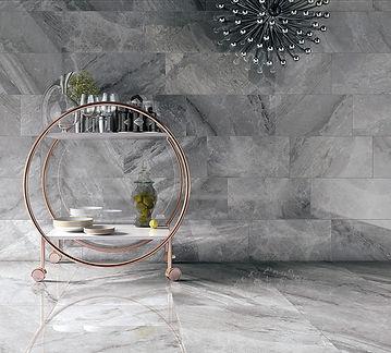 Supreme Grey, Sovereign Grey, Marble Tiles, Cerdomus Tiles, Polished porcelain, Rovic Tiles, shiny floor tiles, porcelain floor tiles, tiles in kent, tiles in west malling