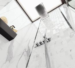 Statuario Bianco, Cerdomus Tiles, Mosaic Tiles, Shower Tiles