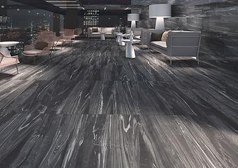 Deluxe Black Tiles, Luxe Tiles, Cerdomus Tiles, Rovic Tiles, Polished Porcelain, Porcelain Floor Tiles, Italian Floor Tiles