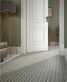 Bloomsbury 6, Caprice Deco City, Equipe Tiles, Rovic Tiles, encaustic tiles, patterned tiles, traditional tiles, Original Style, victorian floor tiles