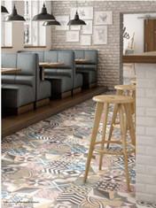 Capice Deco Colours Patchwork. Equipe. Spansh Tiles