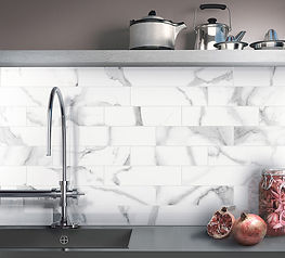 Statuario Bianco, Cerdomus Tiles, Porcelain Wall Tiles, Kitchen Wall Tiles, Rovic Tiles, Italian Wall Tiles