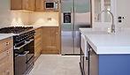 Tiles in Brenchley Close, Chislehurst.  Tile Importers.  Tiles in Kent.  Rovic Tiles.  Zeus Limestone