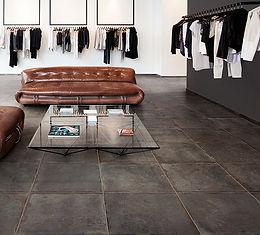 Castle Charcoal, Bastille Charcoal, Cerdomus Tiles UK, porcelain floor tiles, Rovic Tiles, Tile Shops in Kent, Tiles in Kent