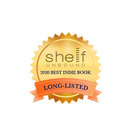 Shelf Unound 2020 Best Indie Book badge.