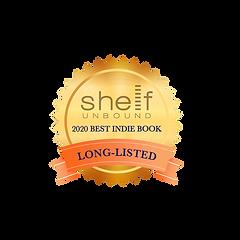 Shelf Unound 2020 Best Indie Book badge.