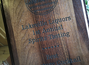 Lakeville Liquors 1st Annual Spirits Tasting – CWS Wins!