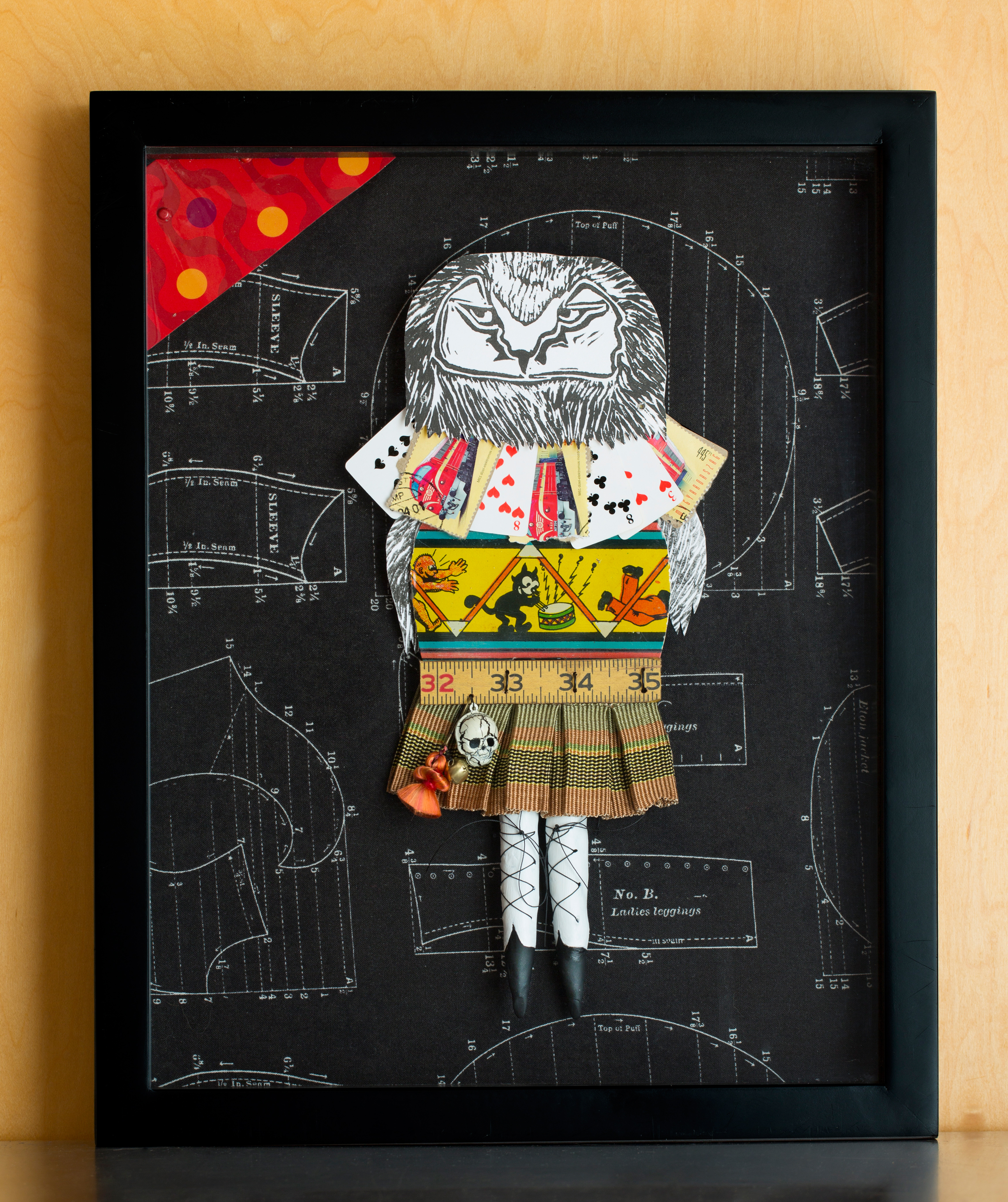 punk schoolgirl owl mixed $350