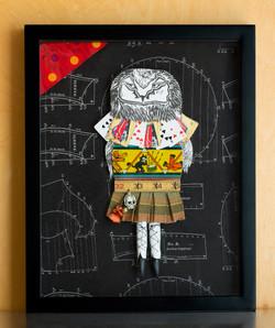 punk schoolgirl owl mixed $350