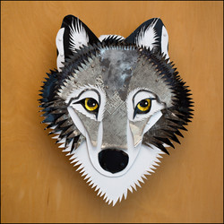 """""""Knowing"""" - gray wolf"""