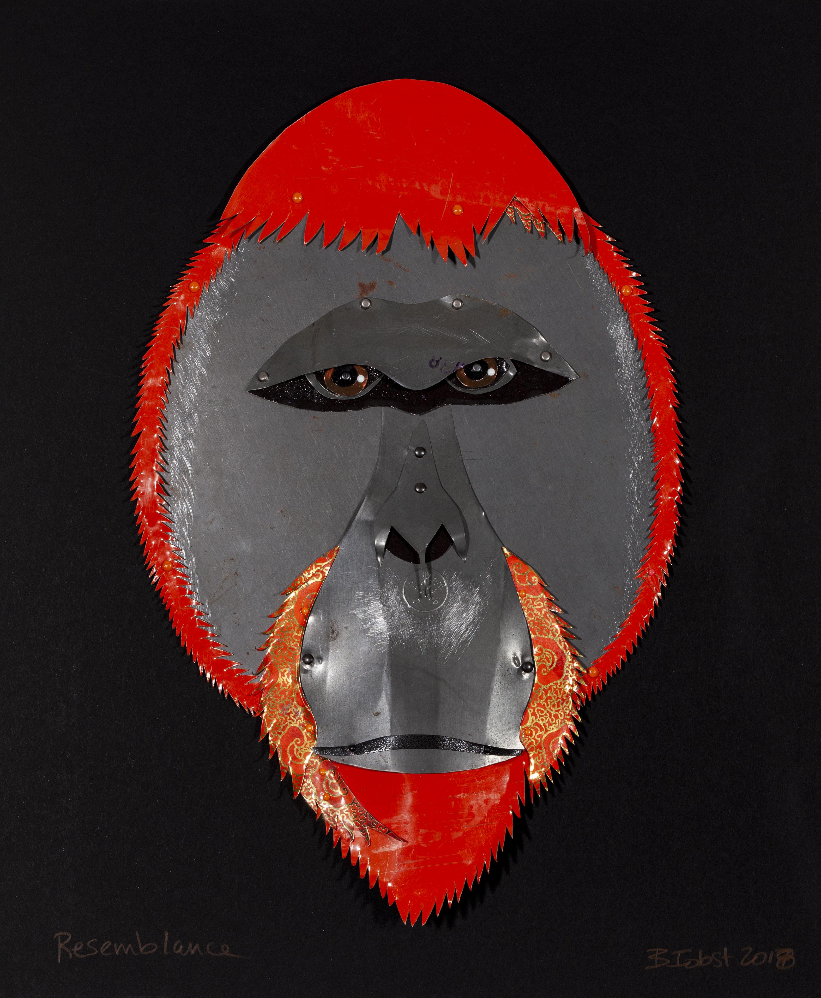 Resemblance - Borneon Orangutan