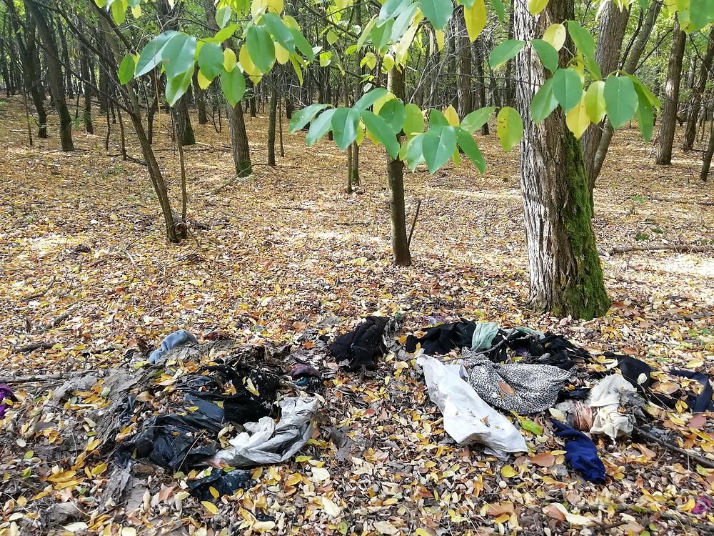ruhák és környezetszennyezés