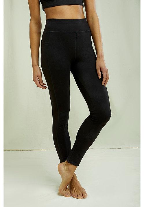Biopamut jóga leggings zsebbel
