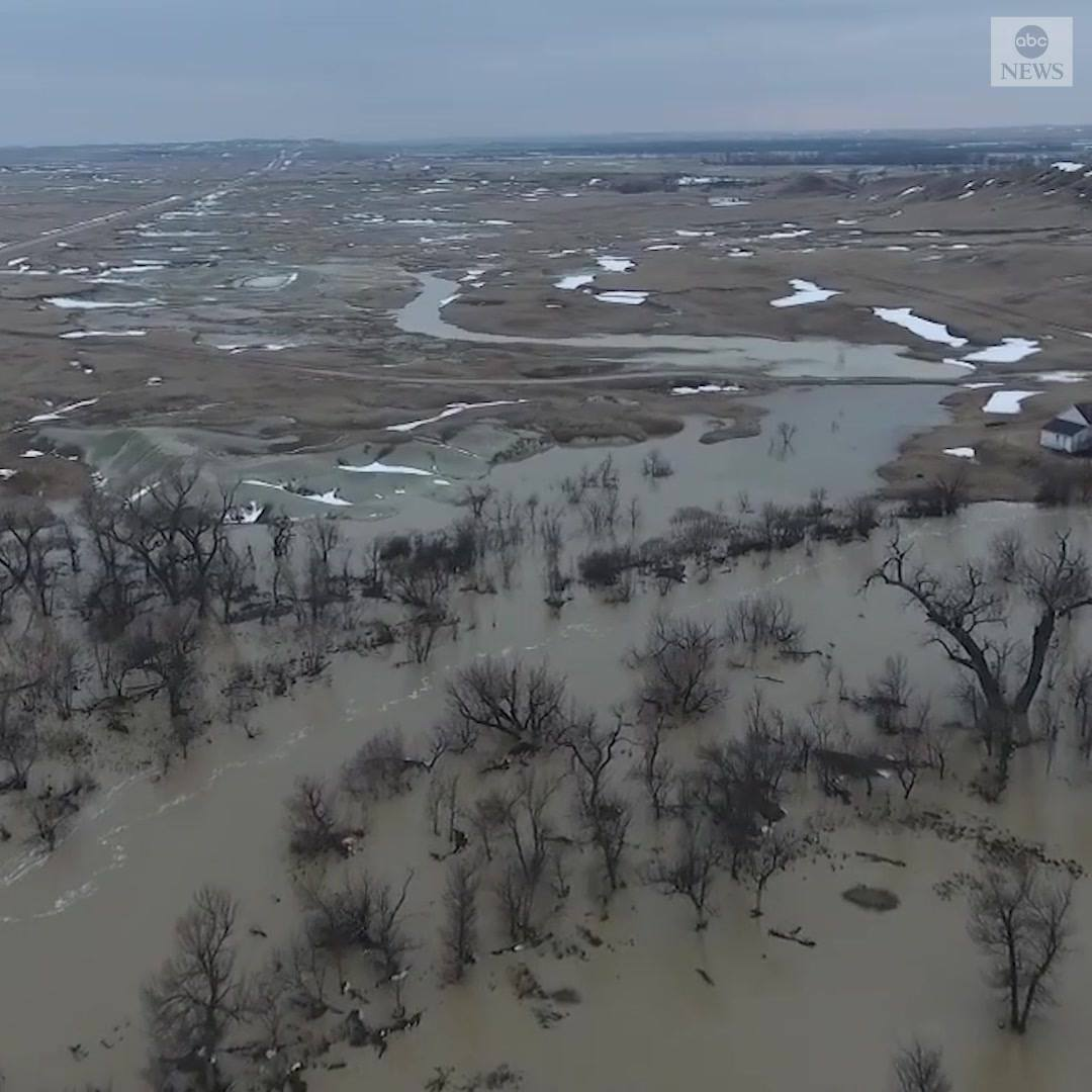 Severe flooding in South Dakota