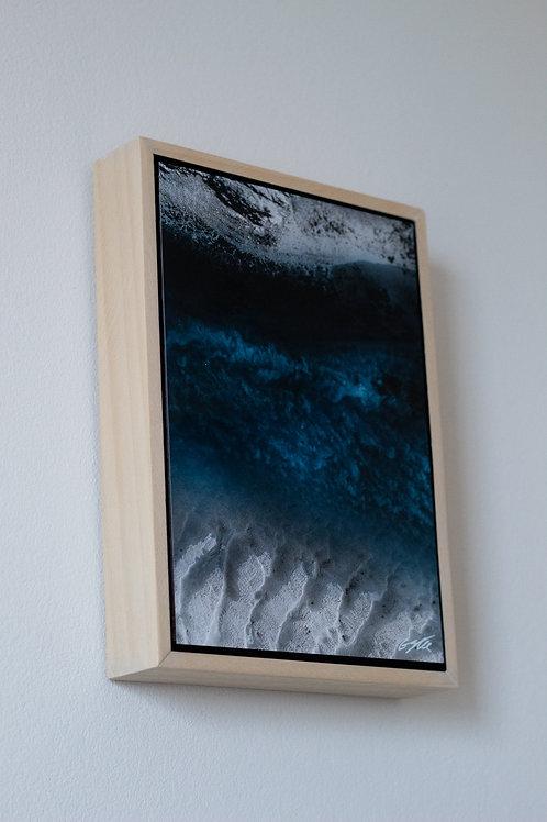 'Blue Void' Framed Mini