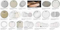 Drum skins