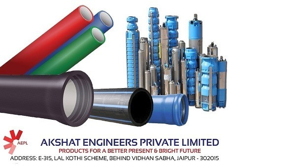 Get High Quality HDPE Pipes all over India - Akshat Engineers
