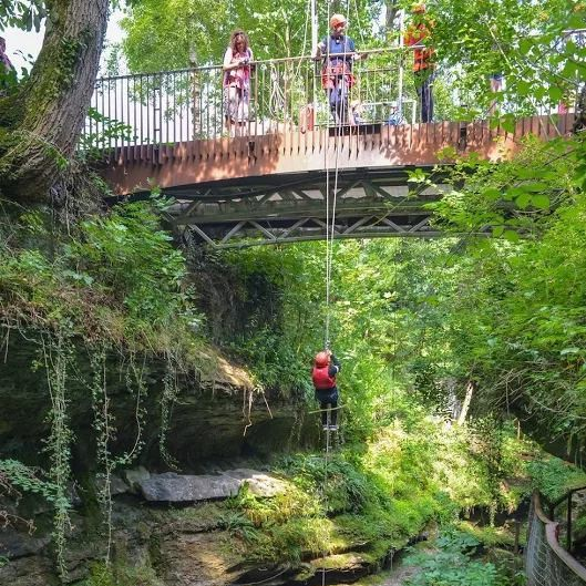 Abseil at howstean gorge