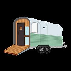 Ivy Bank Campsite Illustration - Horse B