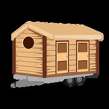Ivy Bank Campsite Illustration - Tiny Bo